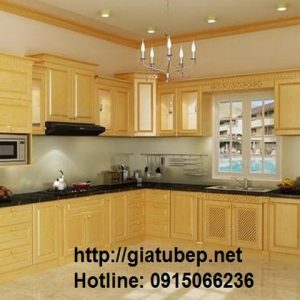 Tủ bếp gỗ Classic