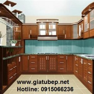 Tủ bếp xoan đào hà nội