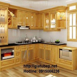Tủ bếp gỗ mẫu đẹp