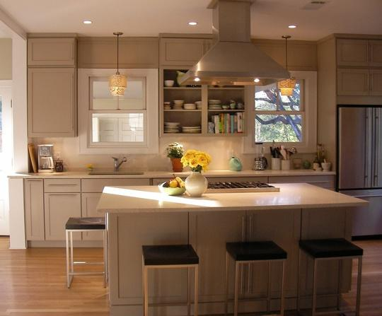 tủ bếp cao cấp hiện đại