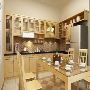 Tủ bếp gỗ công nghiệp cao cấp tại Nam Định