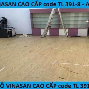 Sàn gỗ công nghiệp AC3- Tư vấn sàn gỗ mã TL391-8