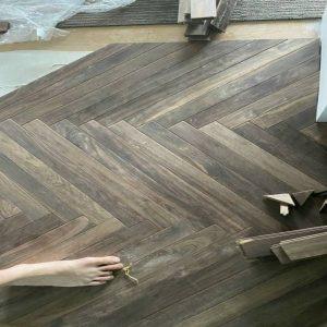 Sàn nhựa xương cá – Tổng kho sàn nhựa giả gỗ có hèm khóa 5mm
